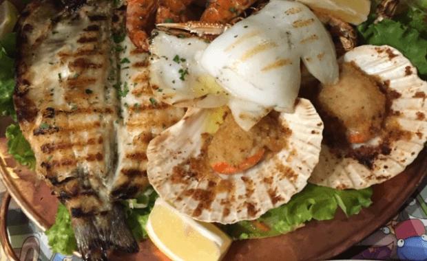 Specialità di pesce a Canazei